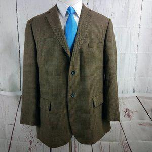 Pronto Uomo Platinum Houndstooth Blazer Sport Coat